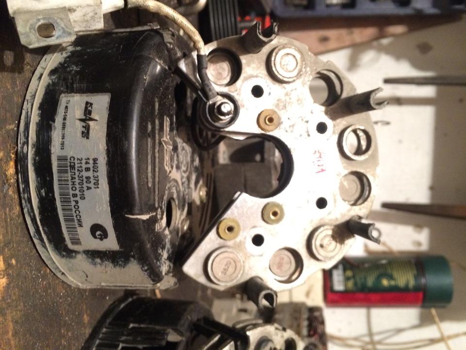 Ремонт генератора 9412.3701