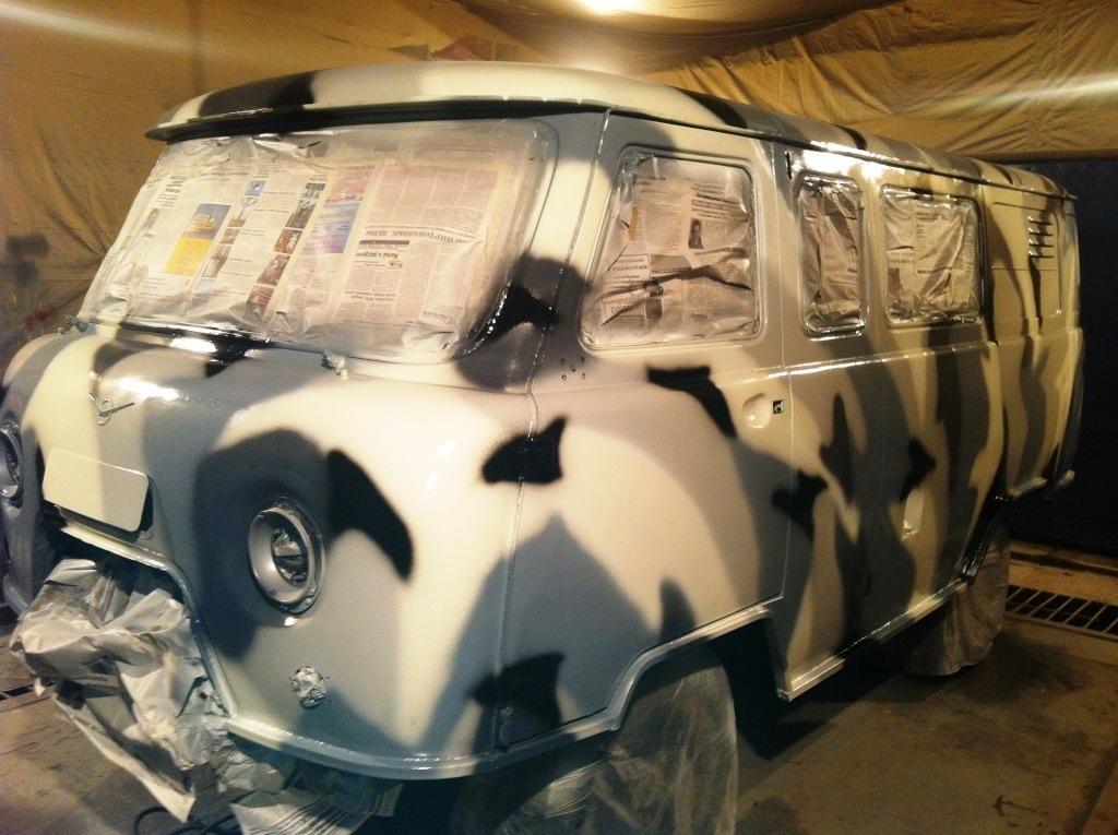 Покраска автомобилей своими руками в камуфляж