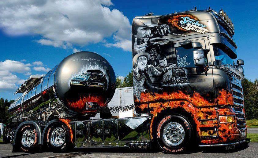 Смешные грузовики картинки