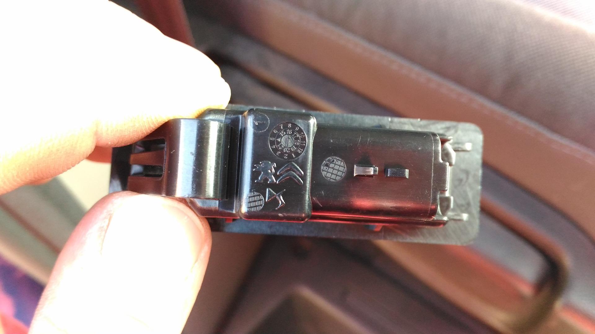 led подсветка номера ситроен с5