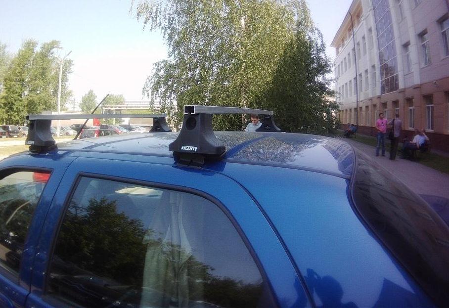 Багажник на крышу фиат альбеа
