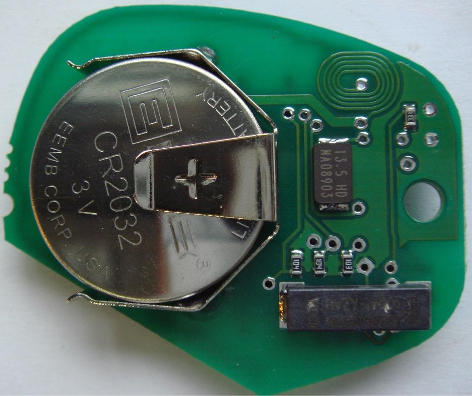 в когда батарейку менять ключе на рабочем приоре иммобилайзер инструкция