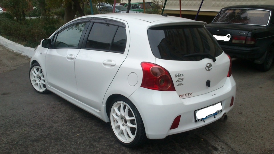 Toyota Vitz RS WHITE GHOST