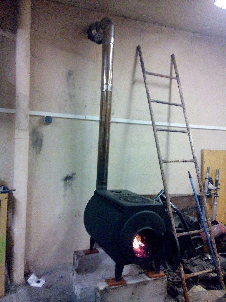Дымоход печи для гаража как подсоединить дымоход к газовой колонке в квартире