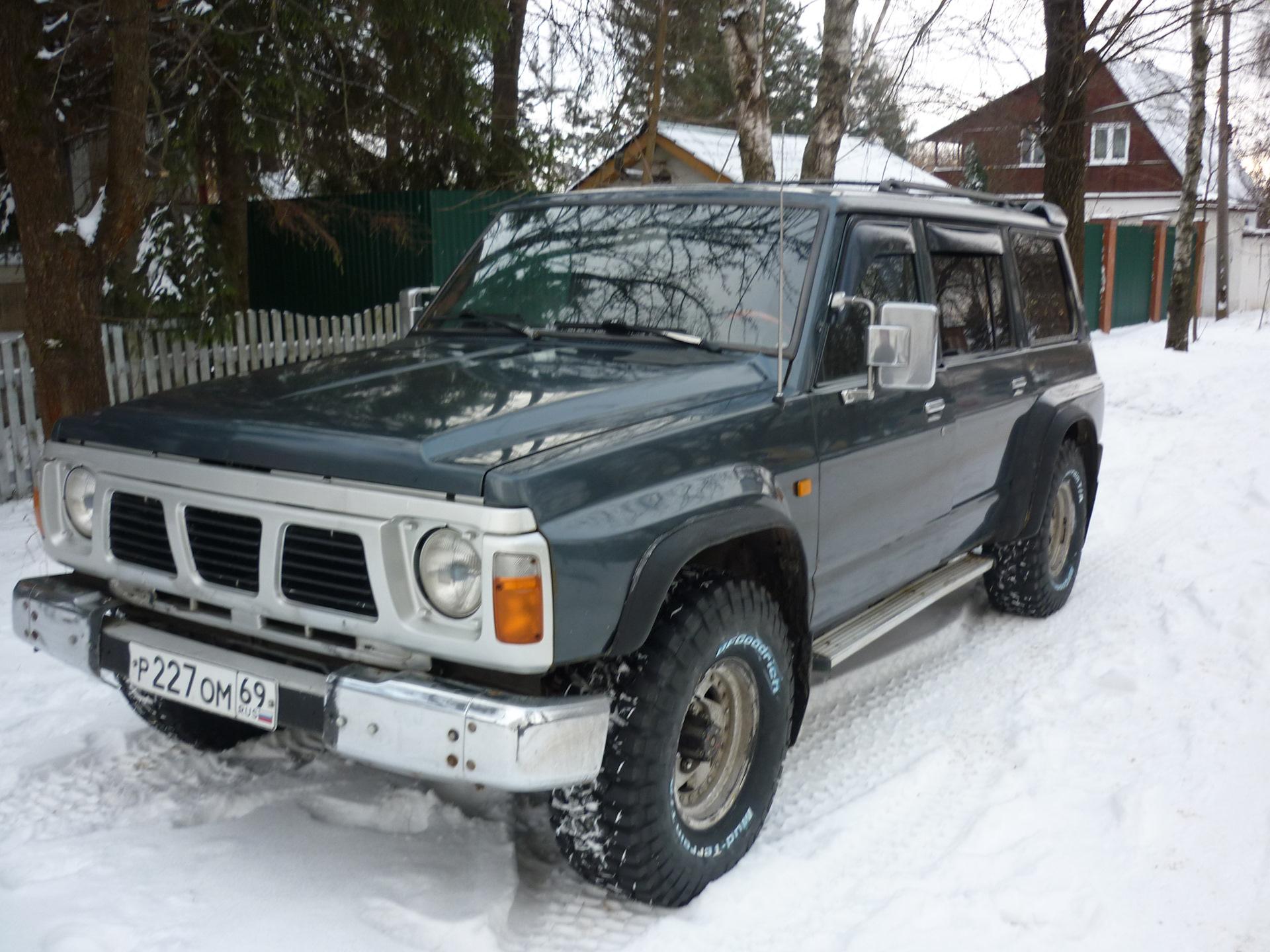 nissan patrol 1991 размер шин