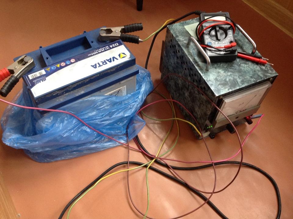 Зарядное для необслуживаемых аккумуляторов