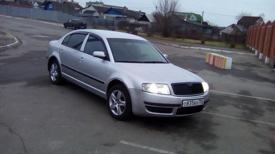 skoda superb механическая коробка 2004