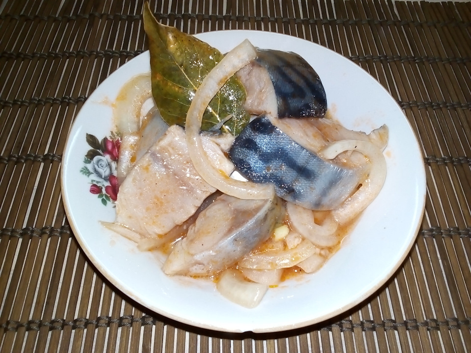 Скумбрия маринованная рецепт пошагово