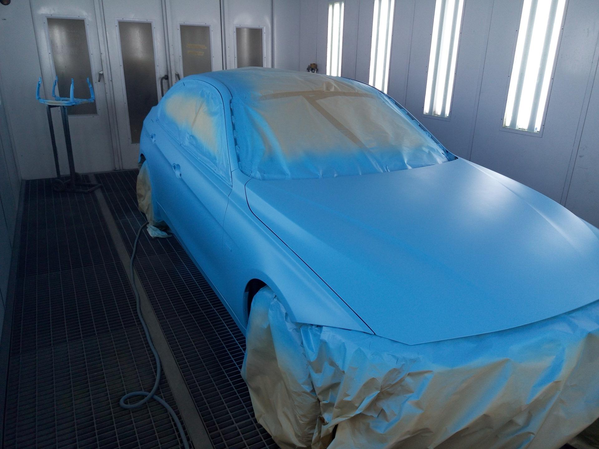 Как покрасить машину жидкой резиной самому