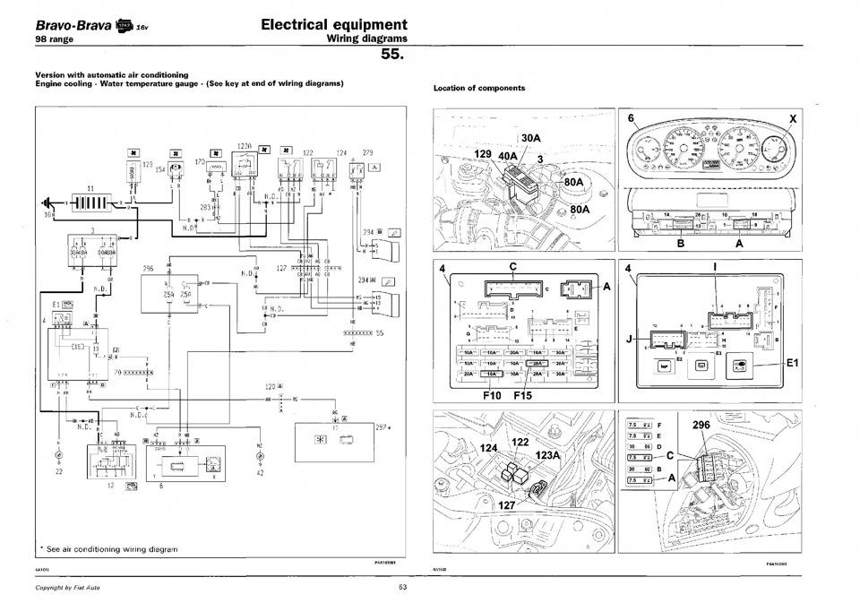 Эл. схемы системы охлаждения и