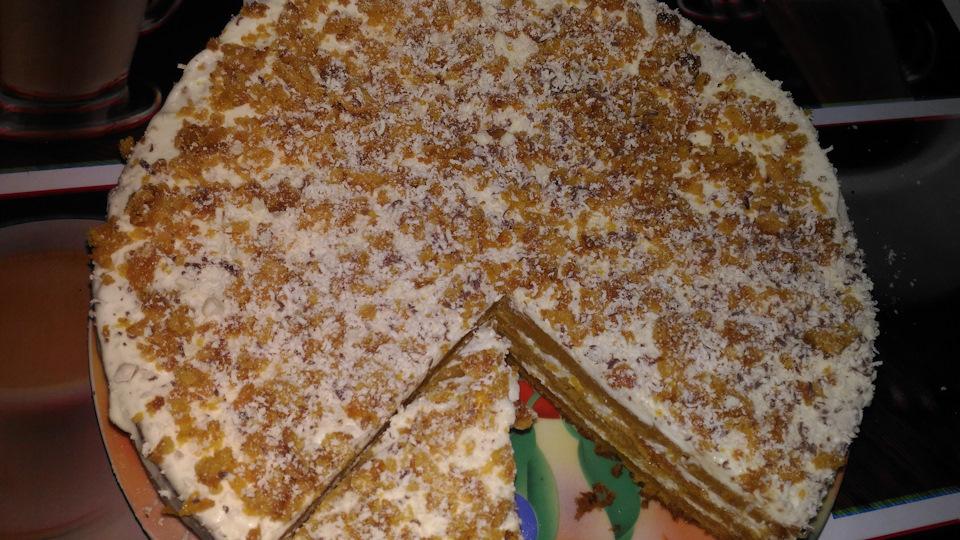 Бразильский морковный пирог рецепт с фото