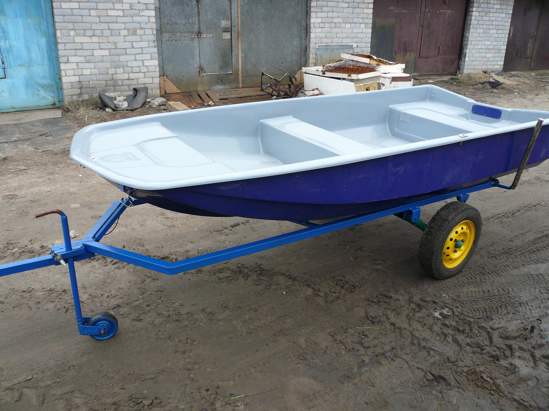 Самодельная телега для моторной лодки катера фото