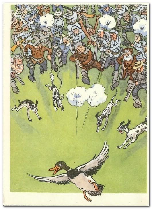 Картинки людей, открытки об охоте