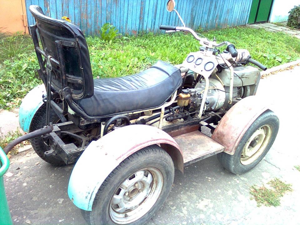 Самодельные квадроциклы.трактора