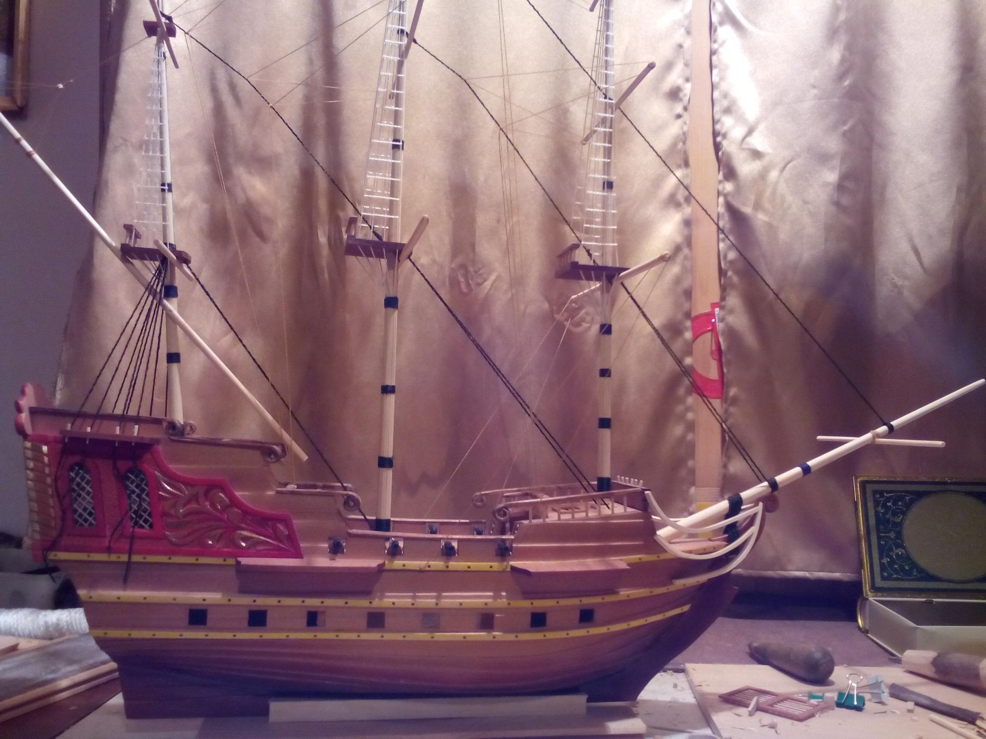 Сделай сам д/у для модели корабля