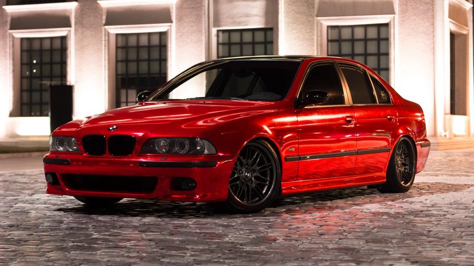 Bmw 5 Series Red Chrome Individual Drive2