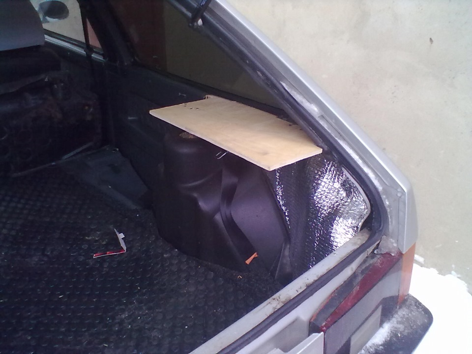 Багажник 2108 своими руками