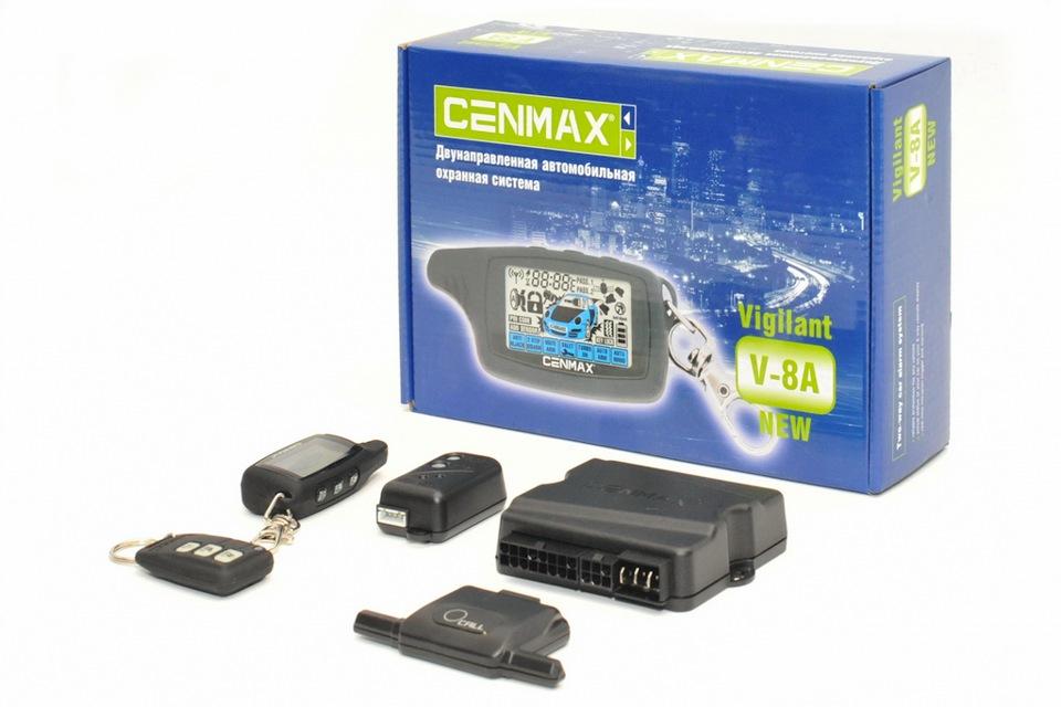 Сигнализация Cenmax V-5a Инструкция По Применению - фото 11