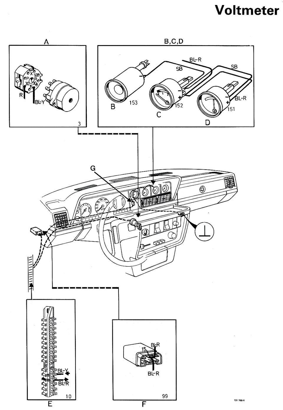 схема соединение вольтметра фото