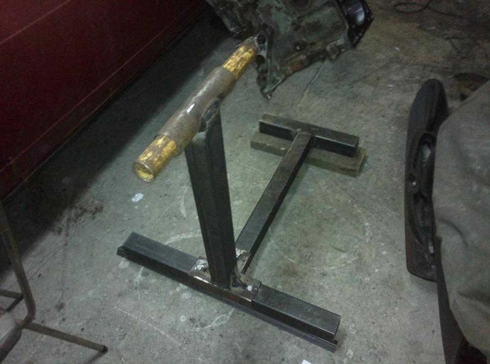 Станок для ремонта двигателя своими руками