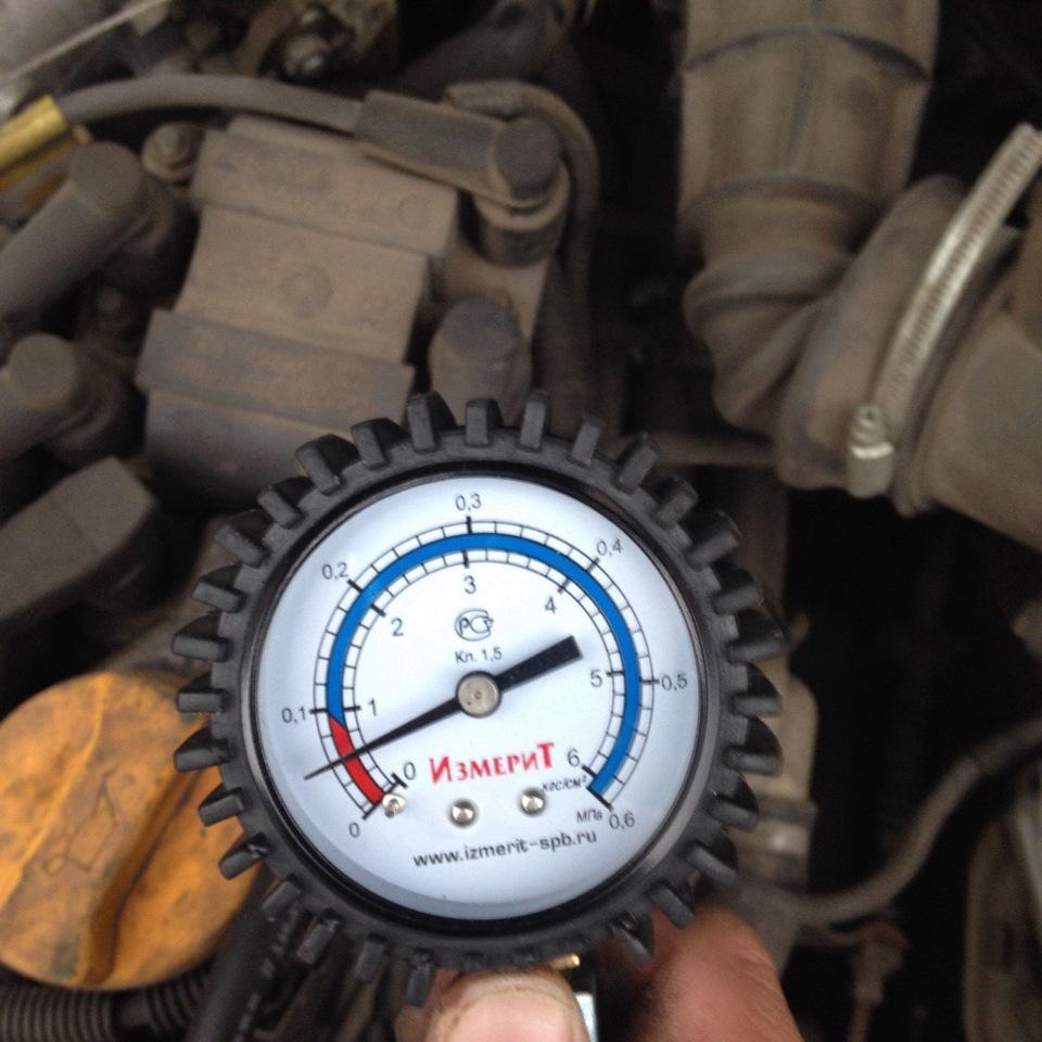 какое давление в двигателе 18 citroen