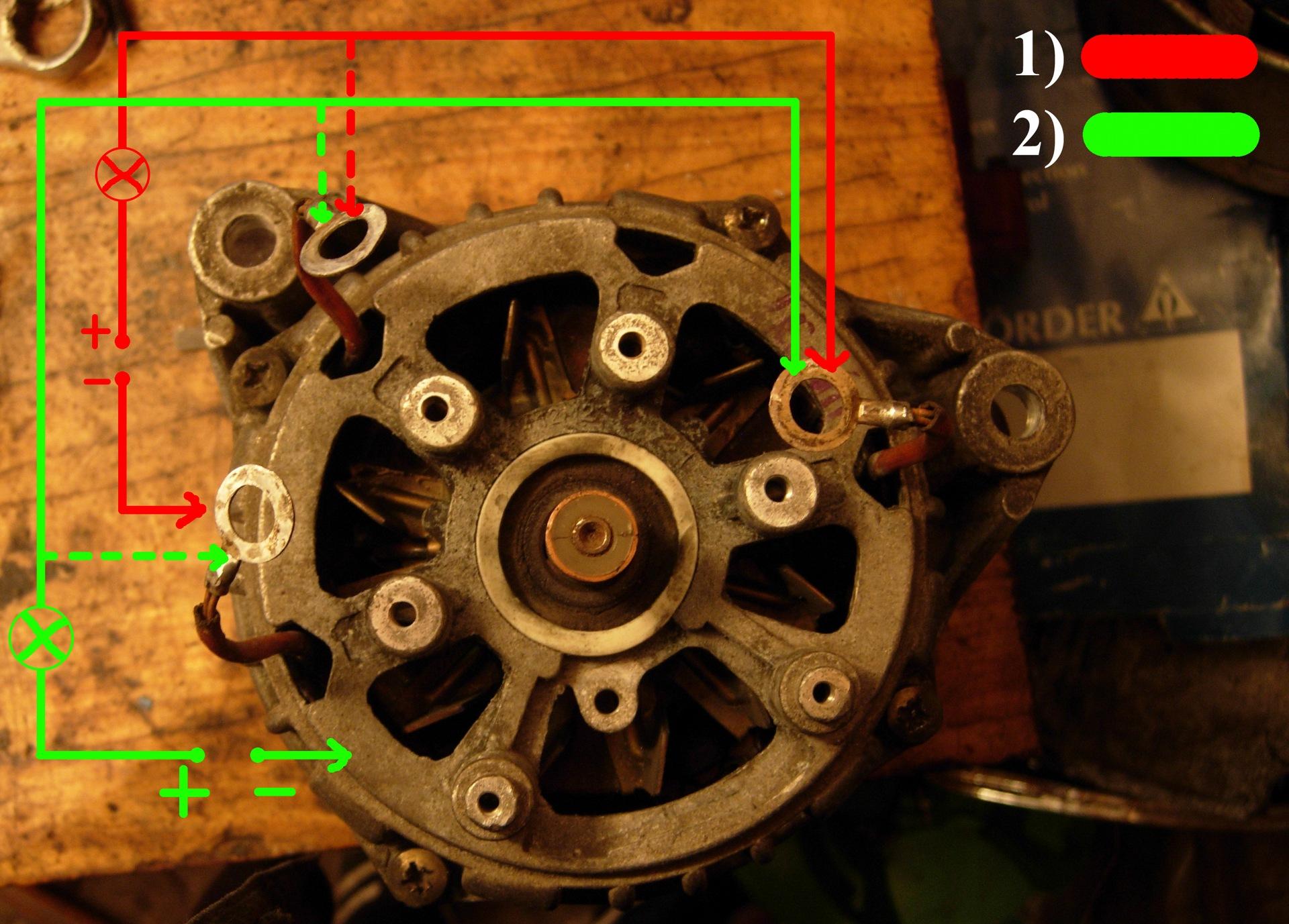 генератор ваз 2109 схема подключения на м 412
