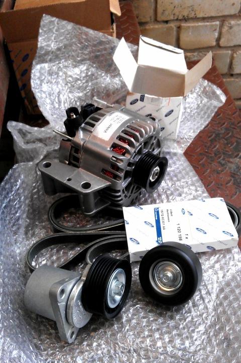Замена генератора форд фокус 2 1.8 своими руками