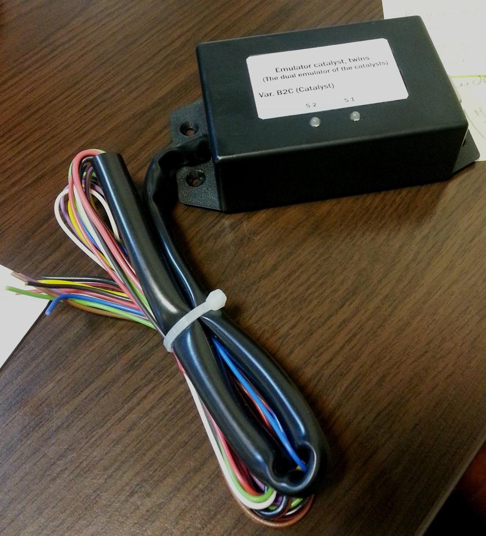 Катализатор: удаление + эмулятор — KIA Magentis, 2 0 л