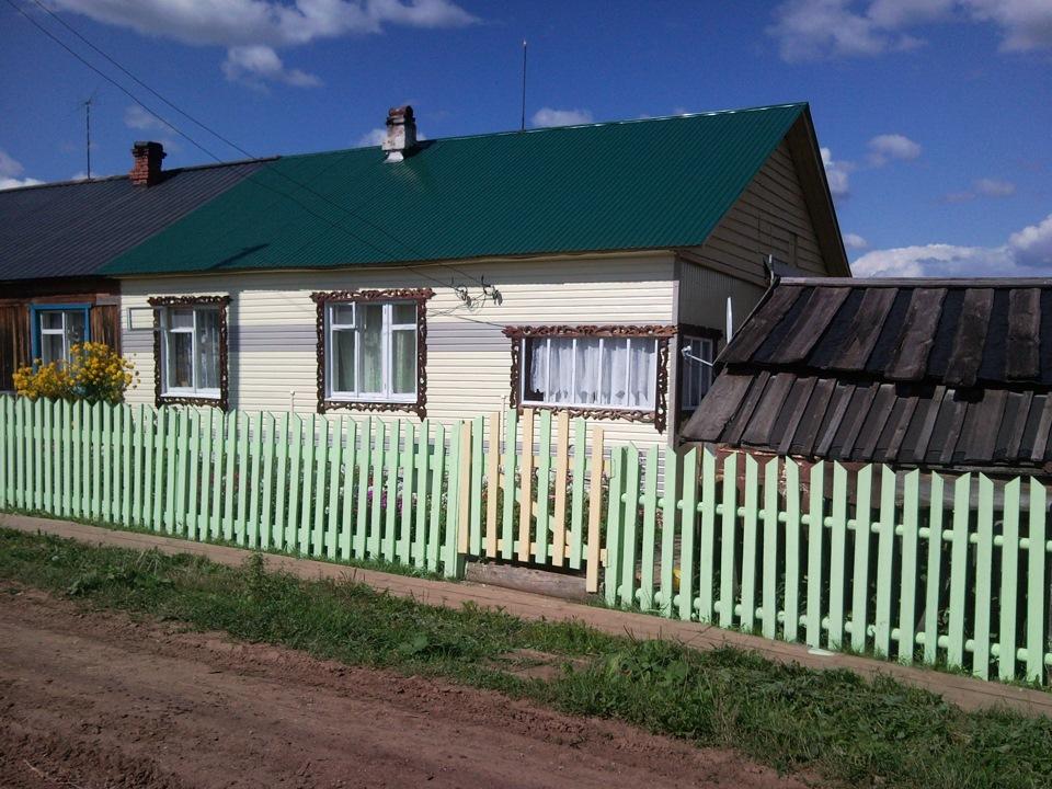 деревня посад пермский край фото стоит