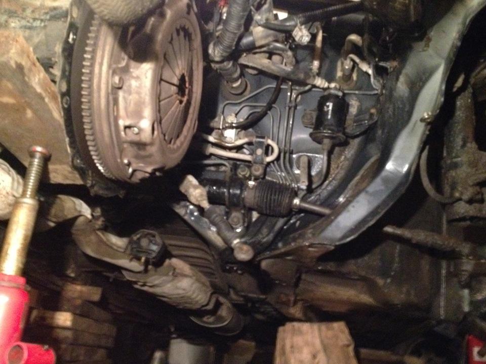 Снятие и установка раздатки corolla Замена опоры двигателя амарок