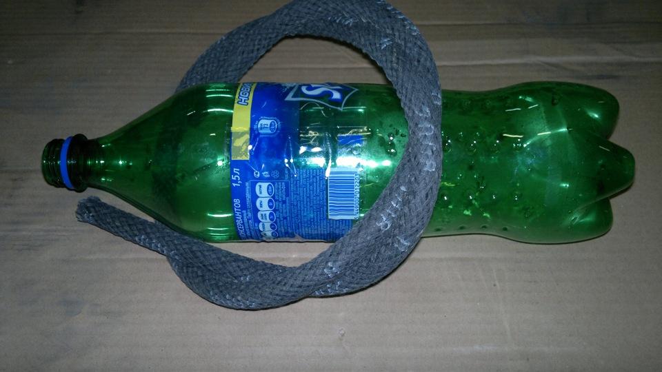 Как сделать водный из одной бутылки 755