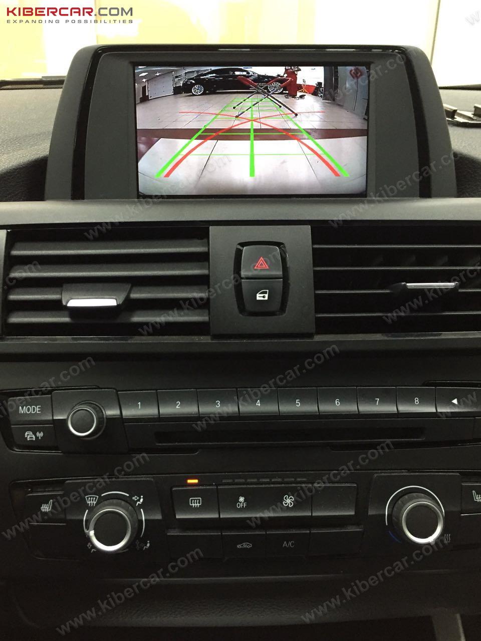 подключение камеры заднего вида BMW e53