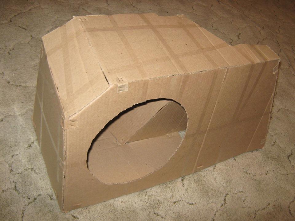 Короб для сабвуфера 2114