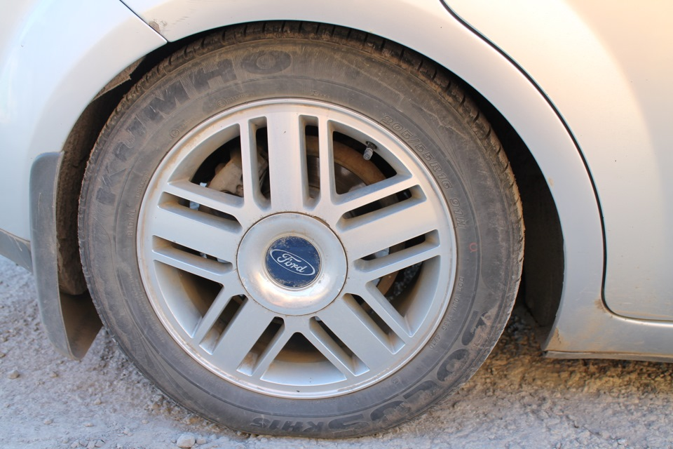 оригинальные диски ford focus 2 r16