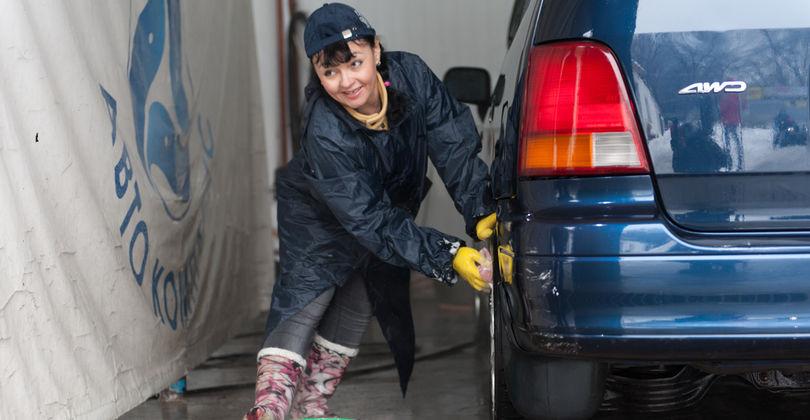 Работа на автомойке для девушки работа фотомоделью в алматы