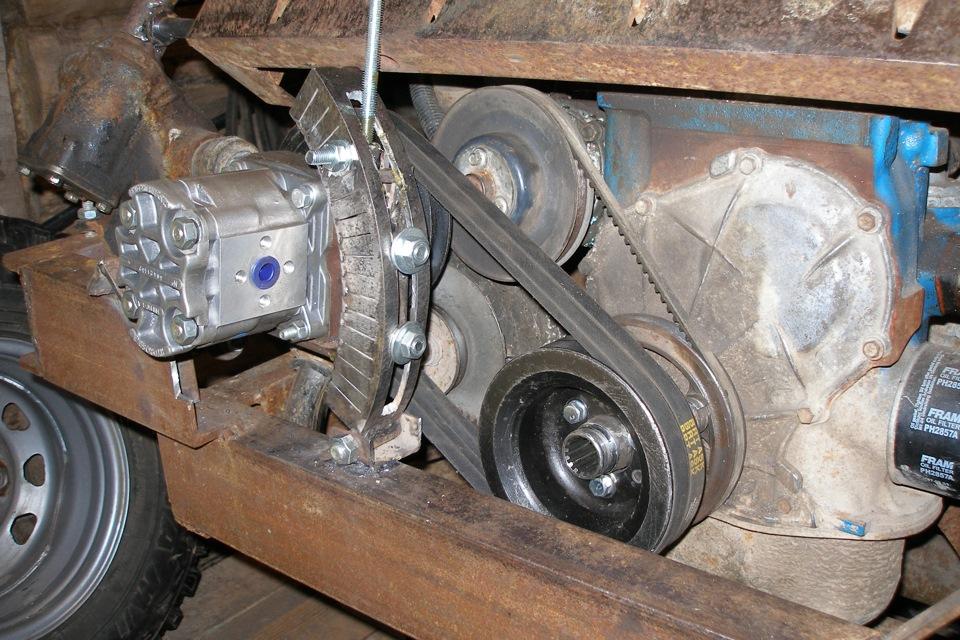 Масляный насос гидравлической трактора МТЗ-80, МТЗ-82