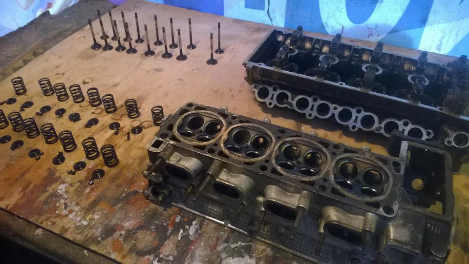 Капиталка 406 двигателя