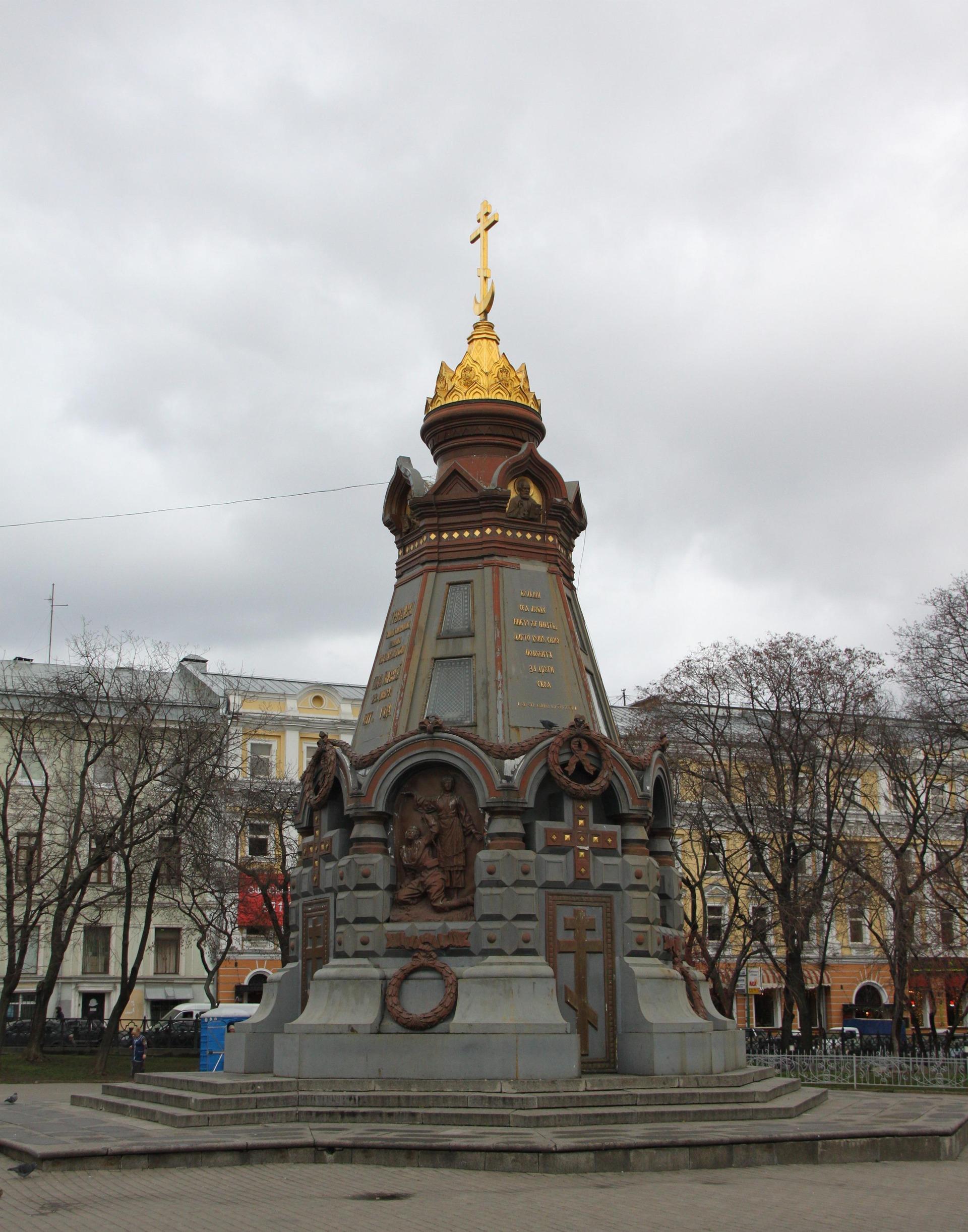 Памятник гренадерам на лубянке