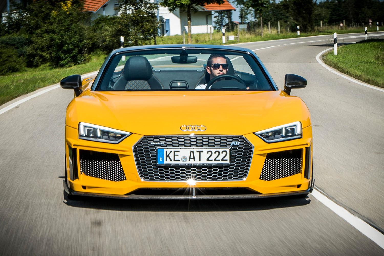 дорожный против гоночного новый тюнинг пакет для Audi R8 Tuning