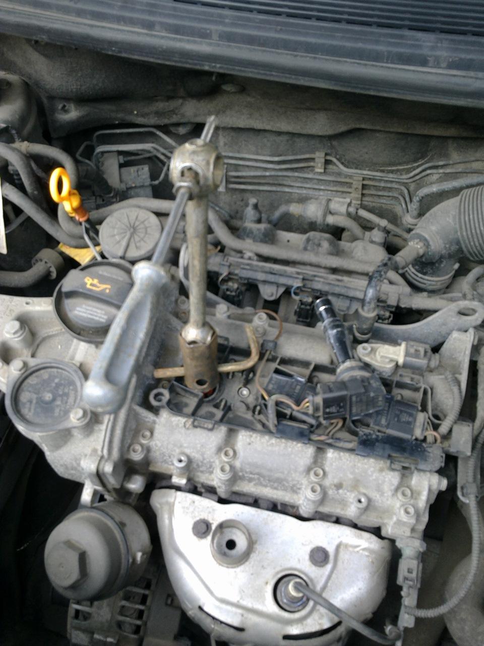 Масло на двигателе шкода фабия