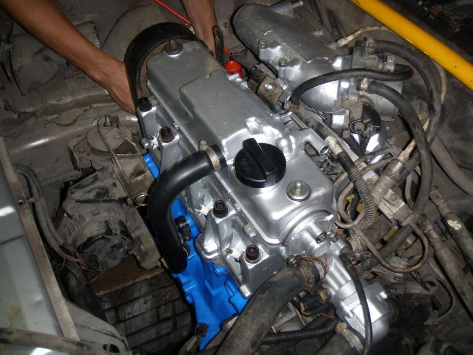 Фото №5 - ремонт автомобиля ВАЗ 2110 своими руками