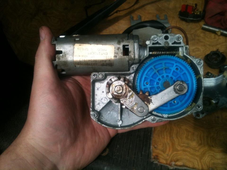 Замена рычага переключателя стеклоочистителя тойота рав 4