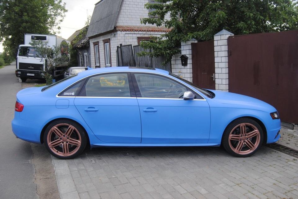 Покраска дисков — Audi S4, 3 0 л , 2010 года на DRIVE2