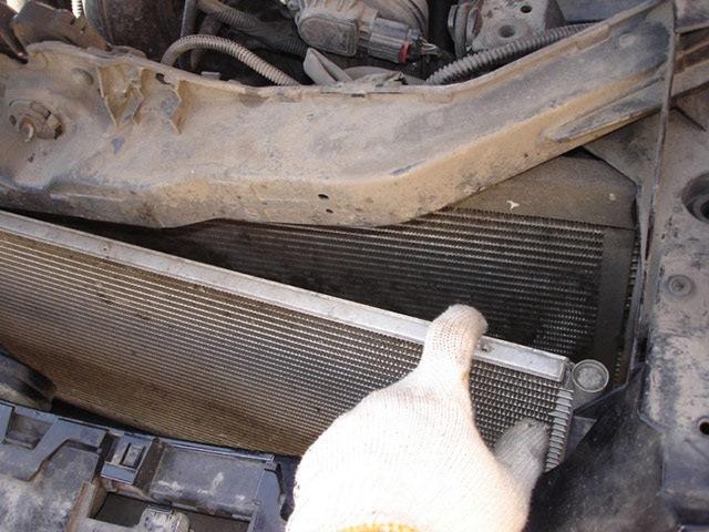 Чистка радиатора форд фокус своими руками 148