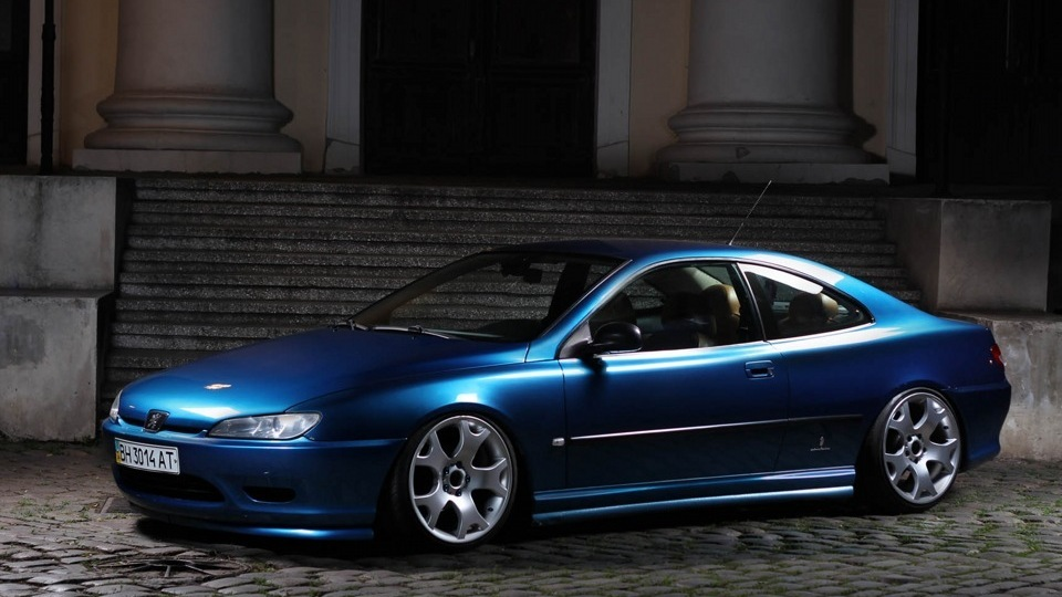 sale peugeot 406 coupe custom wheels air sale from actual owner with the entire maintenance. Black Bedroom Furniture Sets. Home Design Ideas