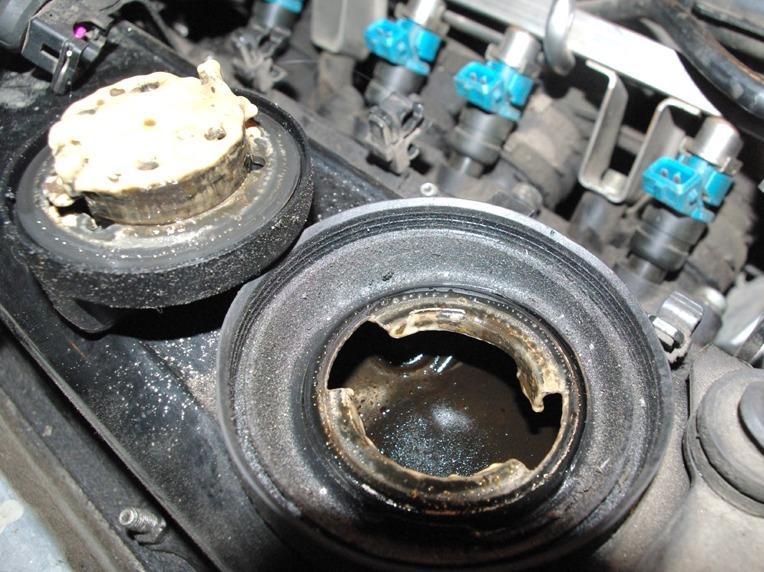 что делать если антифриз уходит в двигатель
