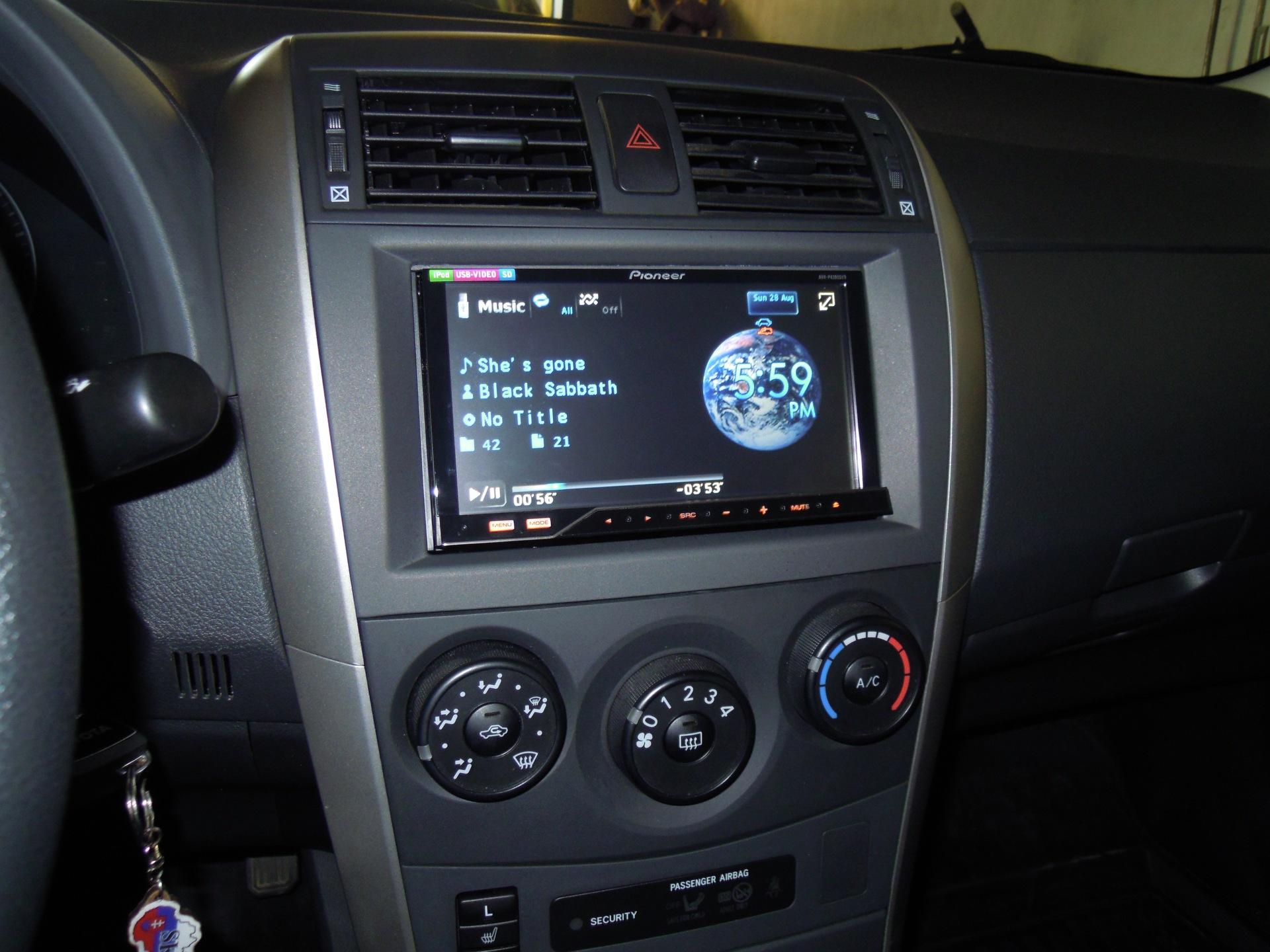 переходная рамка Toyota Королла #6