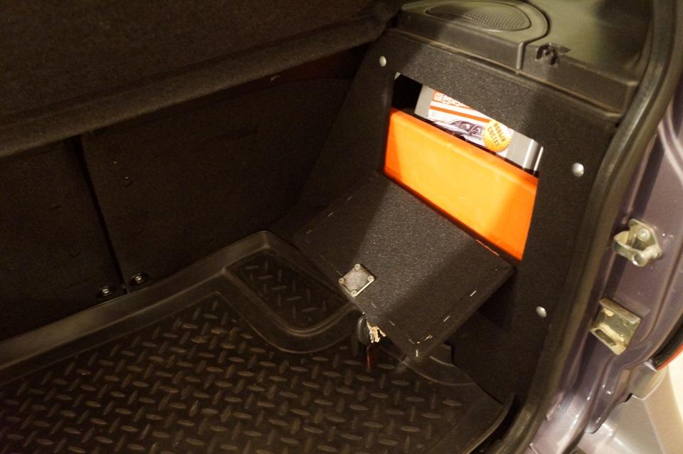 357Сделал ящик в багажник для багажника своими руками