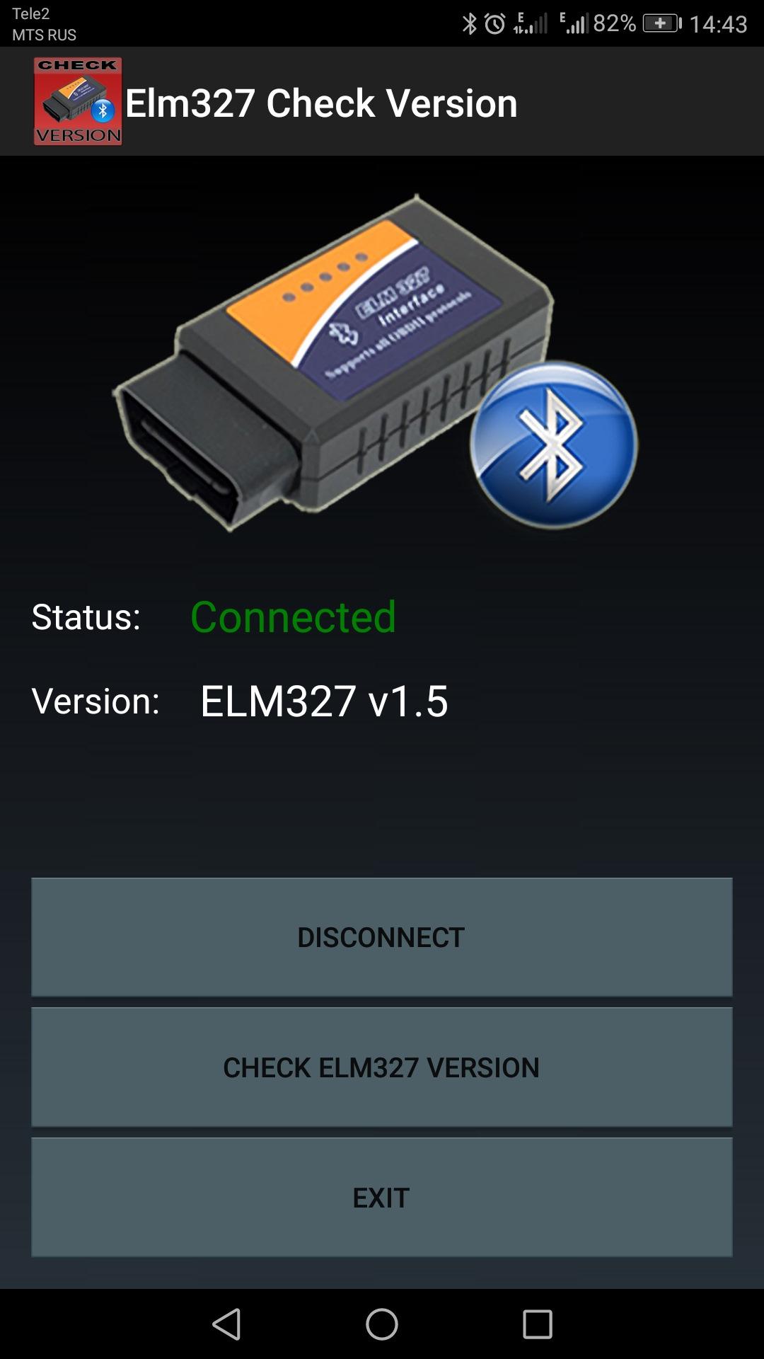 elm 327 не подключается к renault simbol