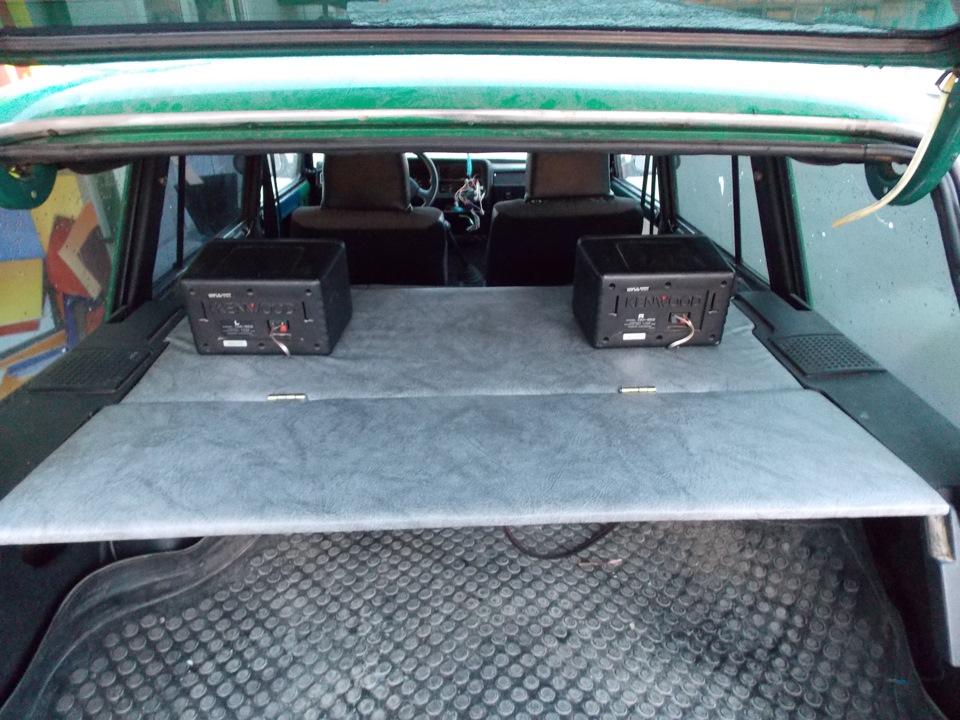 Полка багажника ваз 2104